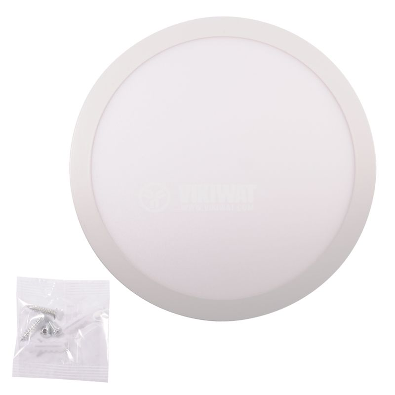 LED PANEL WITH SENSOR BC15-0220, 12W, 220VAC, 6400K, COOL WHITE - 3