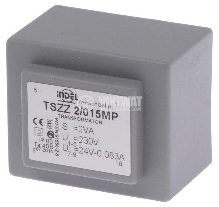 PCB Transformer 24 VAC, 2 VA - 1