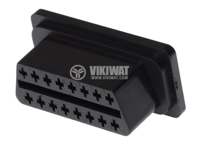 Diagnostic Connector OBD, A-OBD-D, 16 pins, female - 1