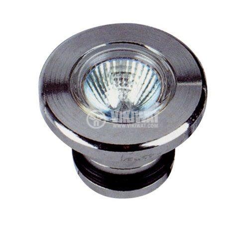 Влагозащитена лампа за басейни NSH 009-C,12V, 50W, G5.3, MR16, IP68 - 1