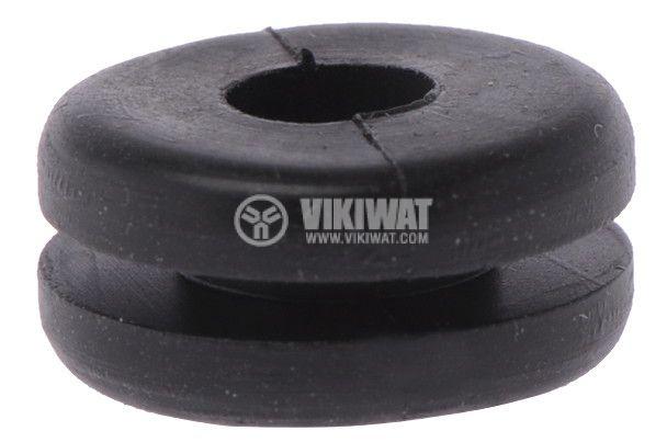 Проход, HV1216-PVC-BK, Ф4.5mm