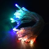 Christmas Decoration Rope Type, 3.7m, RGB, AA Batteries, 40 LEDs, RGB
