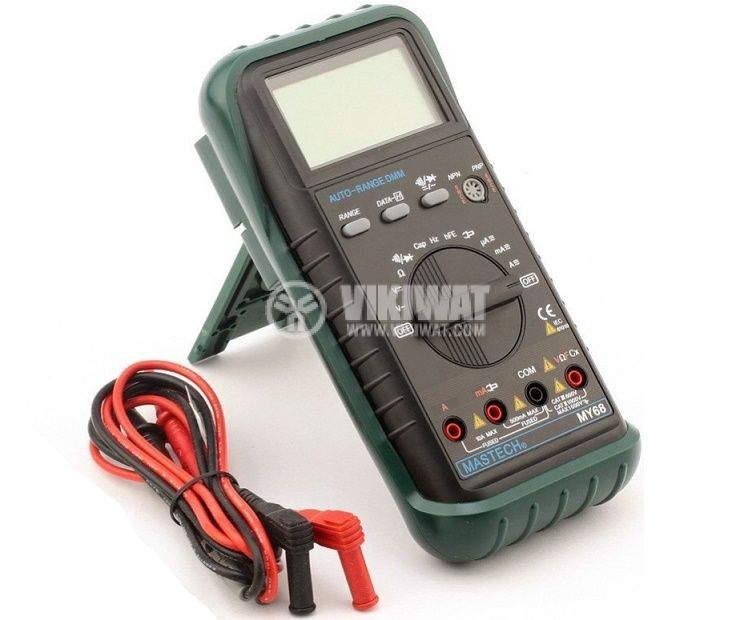 Digital Multimeter MY68, LCD (2000), Vdc, Vac, Adc, Aac, Ohm, F - 3