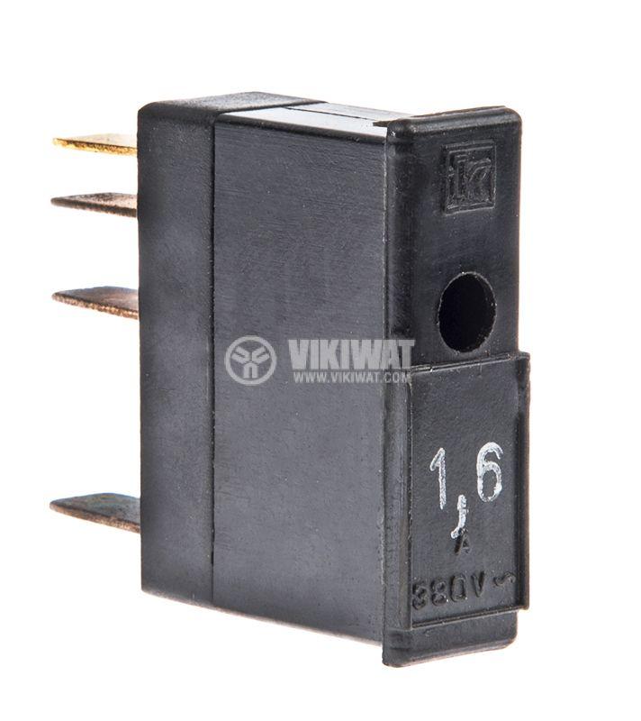 Предпазител 1.6А 380VAC - 1