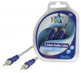 Cable, plug 3.5 stereo/m-plug 3.5 stereo/m, 1.5m