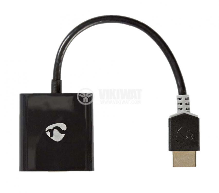 Кабел преходник HDMI към VGA, Nedis CCBP34900AT02 - 1