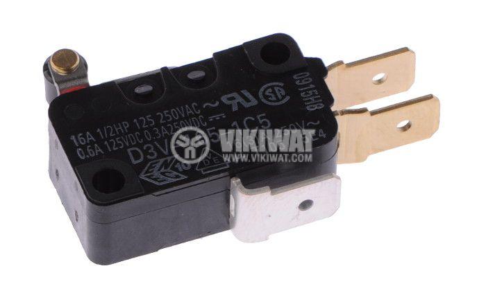 Micro Switch D3V-165-1C5, 16A/250 V, SPDT, NC+NO - 2