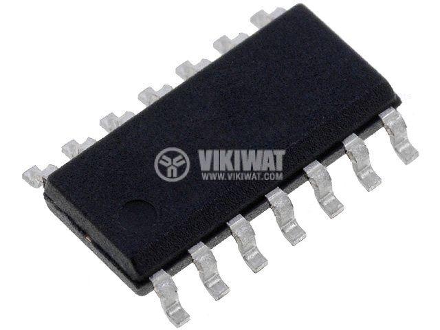 Интегрална схема LM224D четворен операционен усилвател 1.3MHz 100dB 15~30V