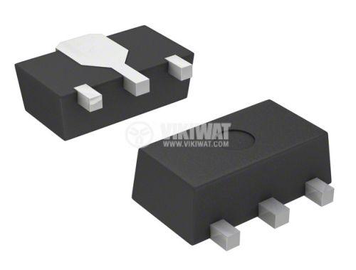 Transistor ZXMN6A11ZTA, MOS-N-FET, 60V, 3.6A, 0.12 Ohm, 1.5W, SOT89