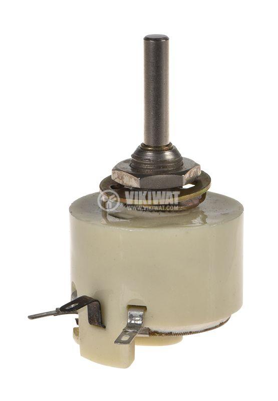 Potentiometer PPB-3A, linear, wire, 1kOhm, porcelain - 1