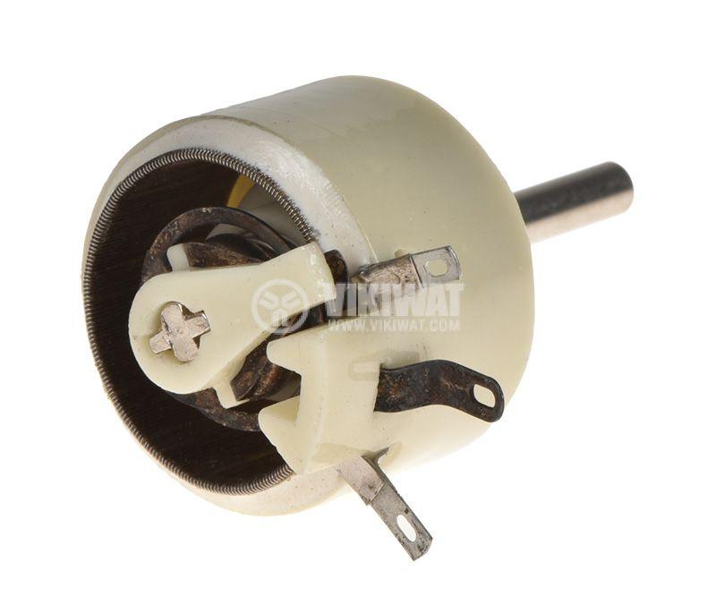 Potentiometer PPB-3A, linear, wire, 1kOhm, porcelain - 2