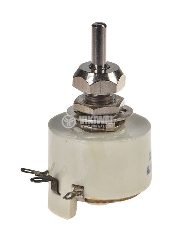 Потенциометър ППБ-3В, линеен, жичен, 330Ohm, порцелан - 1