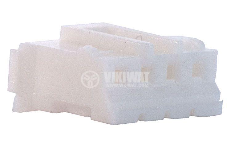 Конектор за обемен монтаж женски, VF20006-4Y, 4 пина - 1