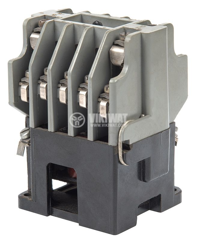 Contactor, three-phase, coil 220VАC, 3PST - 3NO, 10A, К1, 2NO+2NC - 1