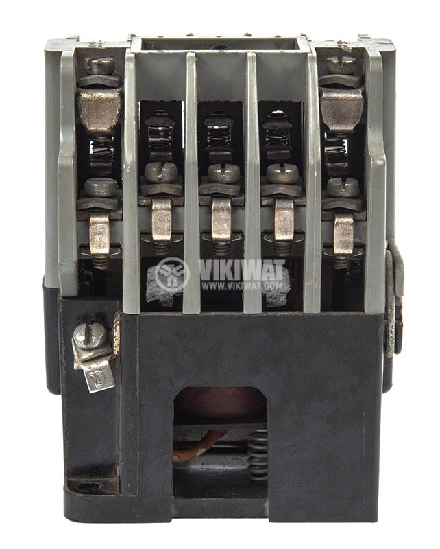 Contactor, three-phase, coil 220VАC, 3PST - 3NO, 10A, К1, 2NO+2NC - 2