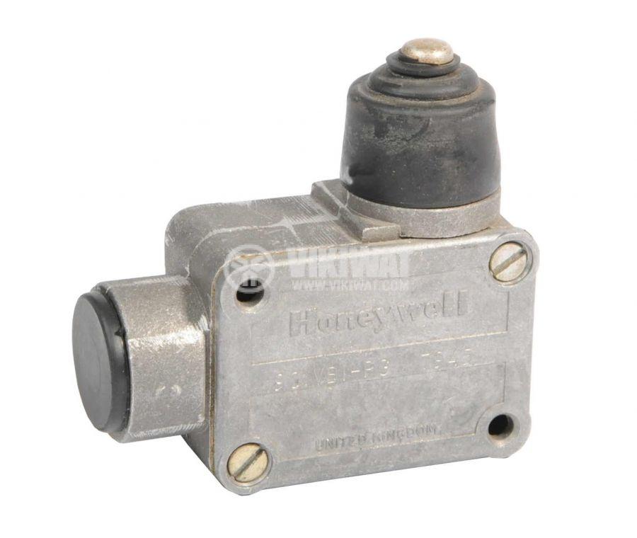 Limit Switch 90IVBI-PG, SPDT-NO+NC, 10A/250VAC, plunger