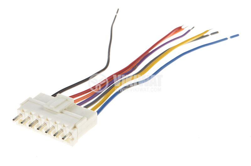 Molex 2139 connectors for PCB, 3.96mm, 7pin, kit - 1