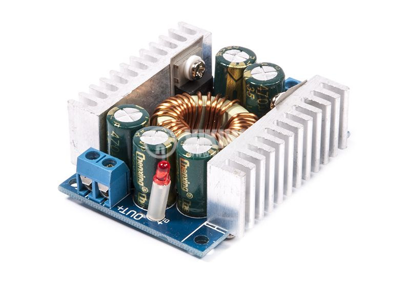 Converter, DC / DC, lowered, 10A, 4-36VDC - 3