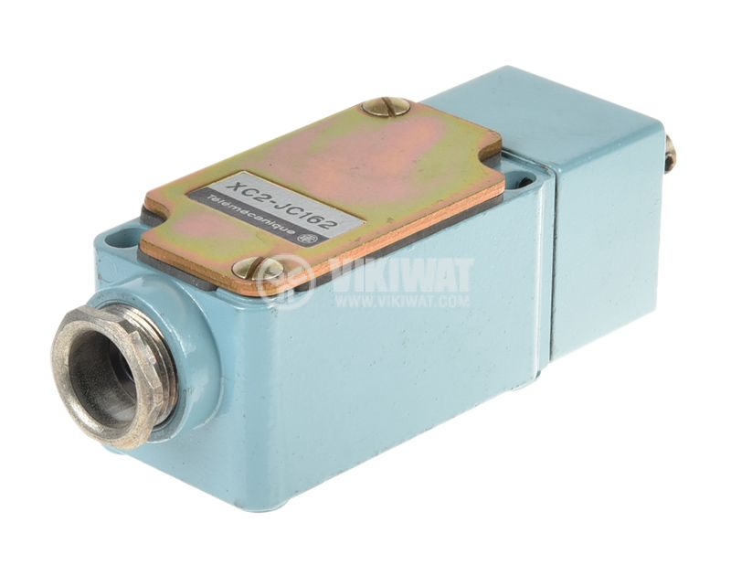 Limit Switch, XC2-JC162, NO+NC, 500VAC/10A, pusher with roller - 2