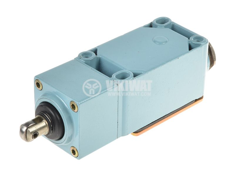 Limit Switch, XC2-JC162, NO+NC, 500VAC/10A, pusher with roller - 1