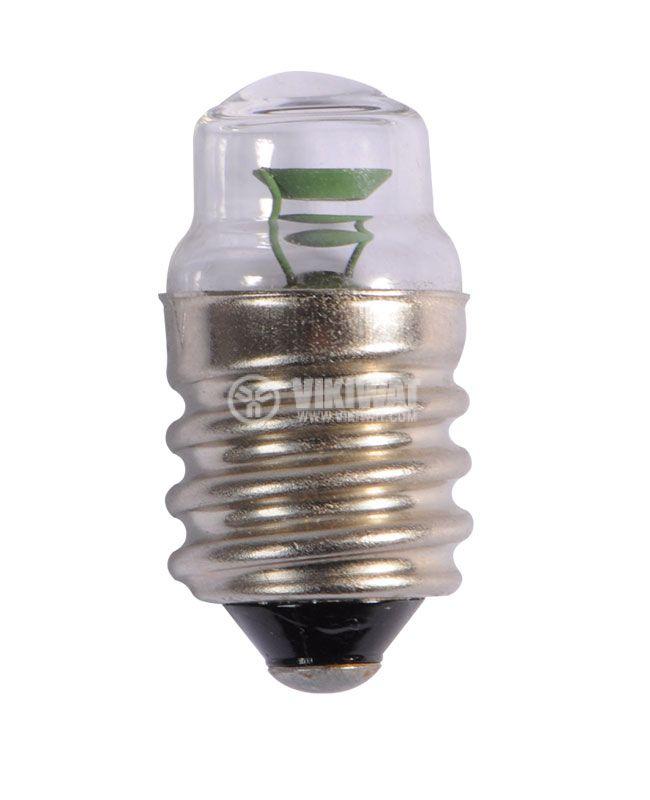 Glim lamp, red, E14, 220V