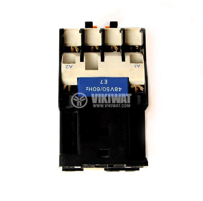 Contactor, Four-pole, 48VAC, 2NO + 2NC, 10A - 2