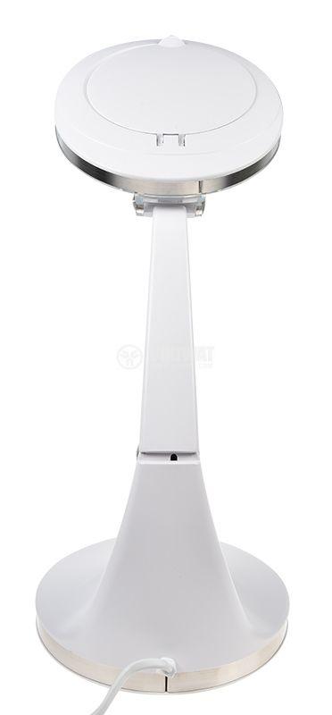 Настолна лупа LUP-19-LED-N с LED осветление, 5W, 48 диода, 3 диоптъра, 12 диоптъра - 7