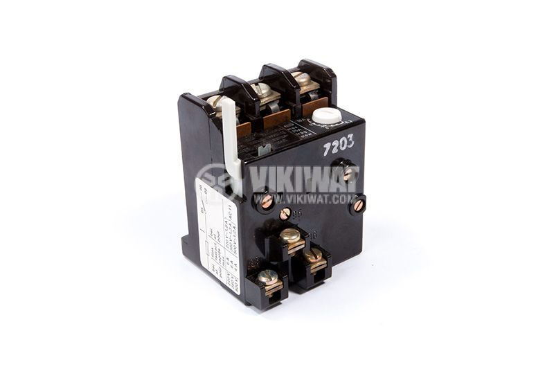 Relay thermal protection, three-phase, 6.3-10A, NO + NC, 6A / 380VAC, TSA 45P - 2