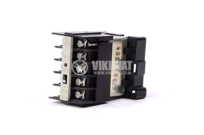 Contactor 02-2B SIEMENS, 4P, 8A, 24 VDC, 2.2kW, 4kW 3TG22 - 4