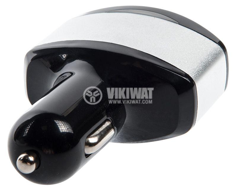 Car charger, automotive voltmeter MR03,12-24VDC, USB - 4