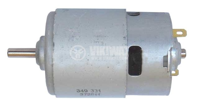 Постояннотоков електромотор Johnson 349331, 12 VDC, 18500 rpm