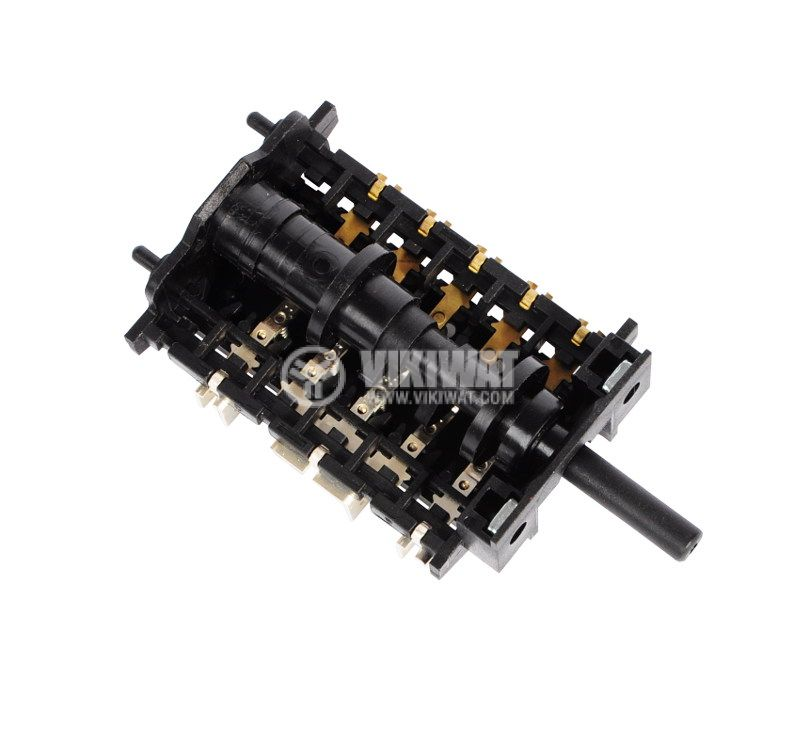 Ключ за фурна, 6 тактов (5+0 позиции), 16A/230VAC - 3