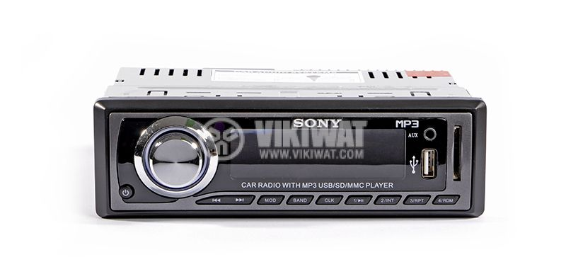 Radio 2000U SONY, mp3, USB slot, MMC and SD slot, AUX-in - 1