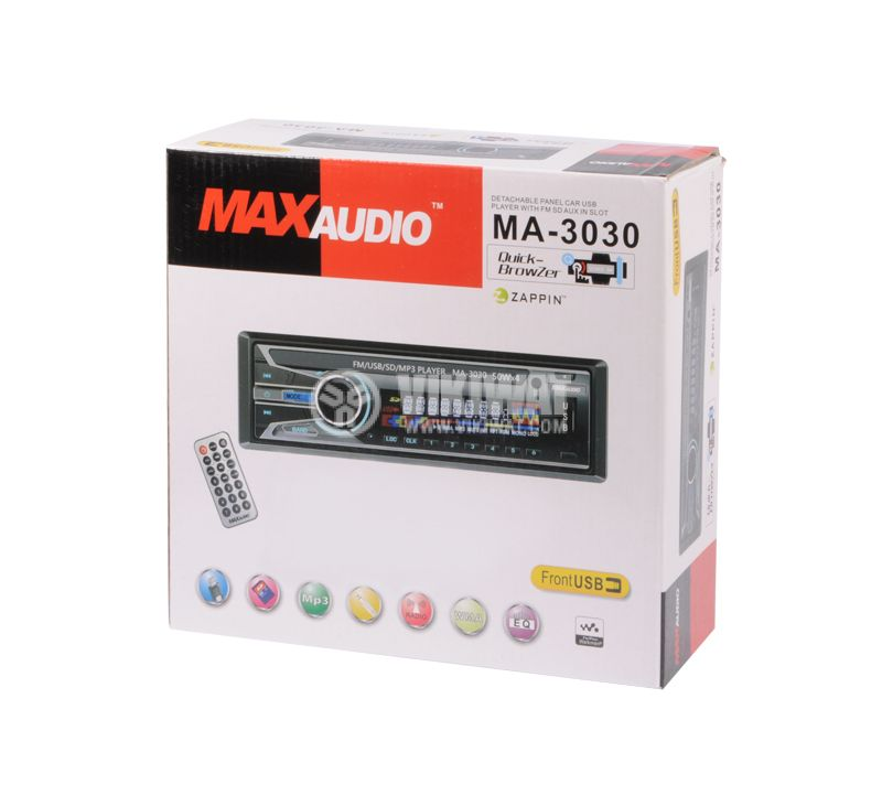 RADIO MP3 PLAYER MA-3030, 4X50W, USB, AUX - 5