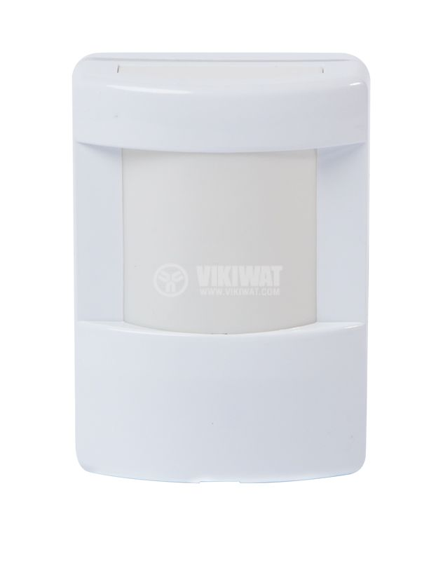 Automatic infrared (PIR) sensor, wall mount 12VDC, 15x10m, IntelliSense - 1