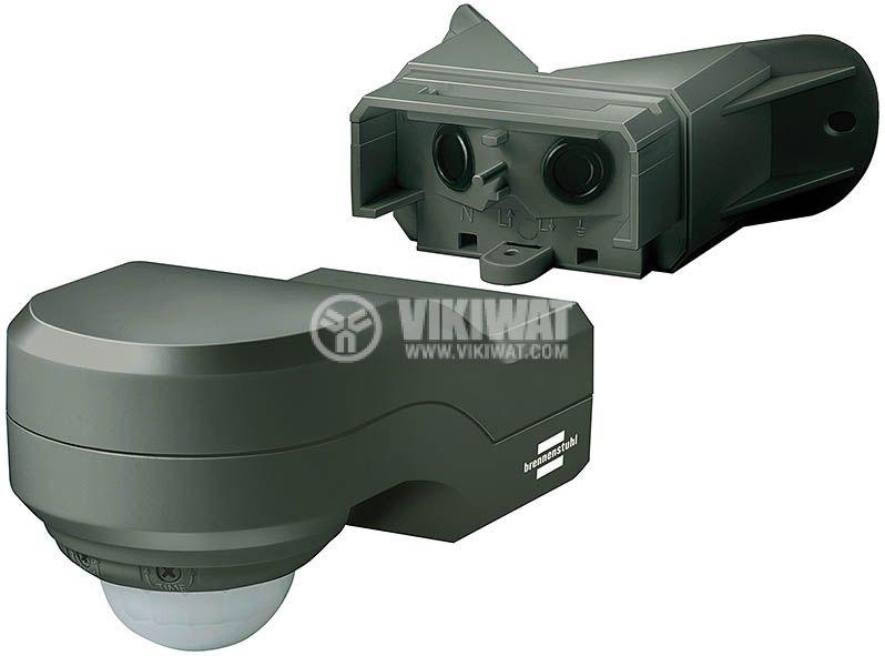 PIR Motion Detector PIR 240, IP44, black - 1