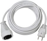 Extender Brennenstuhl, 10m cable, 3x1.5mm2, IP20, white