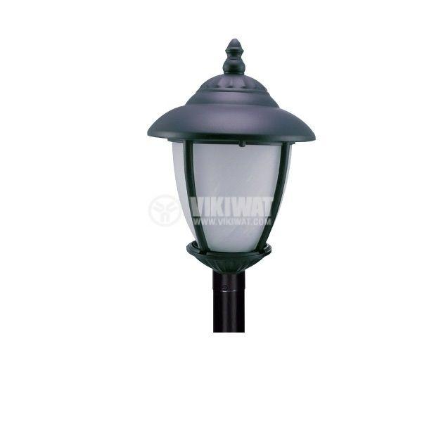 Garden lighting fixture Pacific CS 02, E27, standing black - 1