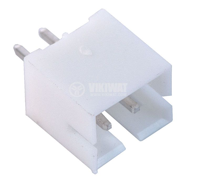 Connector for PCB mounting male, VF20007-2А, 2 pins - 1