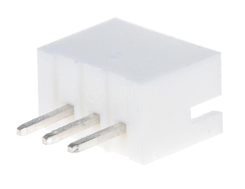 Конектор VF20007-3А за печатен монтаж, мъжки, 3 пина - 1