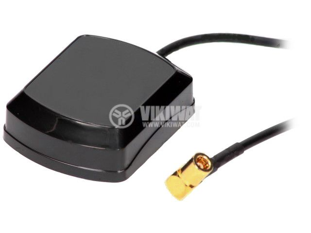 Internal GPS antenna, active 4CARMEDIA GPS-SMB-B - 2