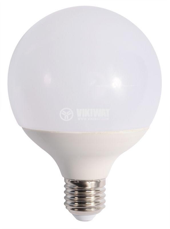LED лампа 14W, E27, 220VAC, 3000K, топло бяла, BA33-01420 - 7