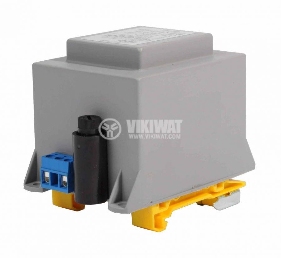 Трансформатор за DIN шина 230/24VAC, 60VA - 2
