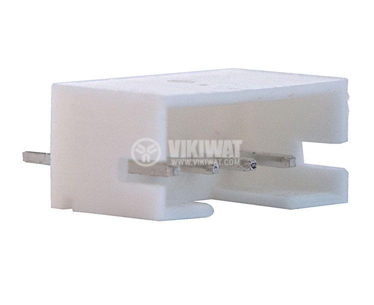 Конектор за печатен монтаж мъжки, VF20007-4А, 4 пина - 1