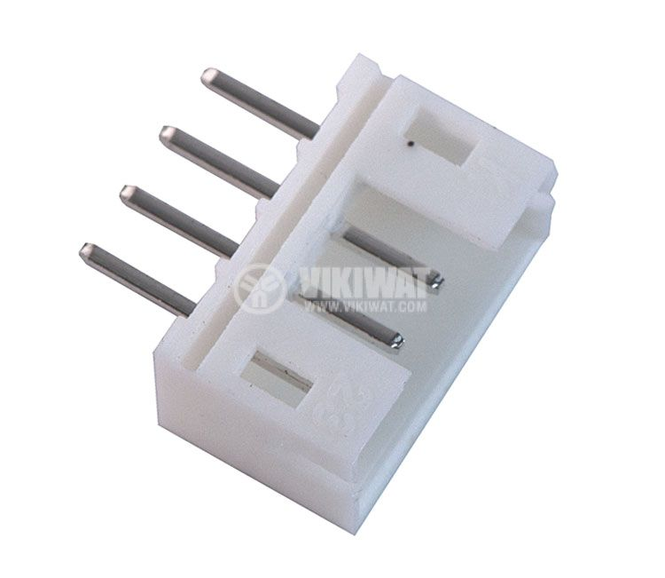 Конектор за печатен монтаж мъжки, VF20007-4А, 4 пина - 3
