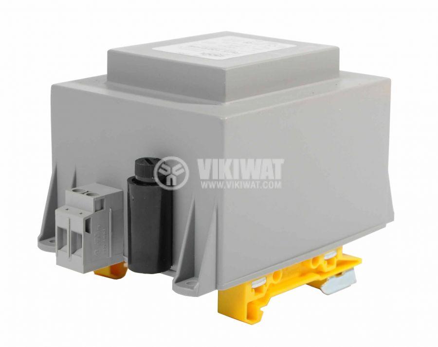 Transformers for DIN rail 230/24VAC, 100VA - 2