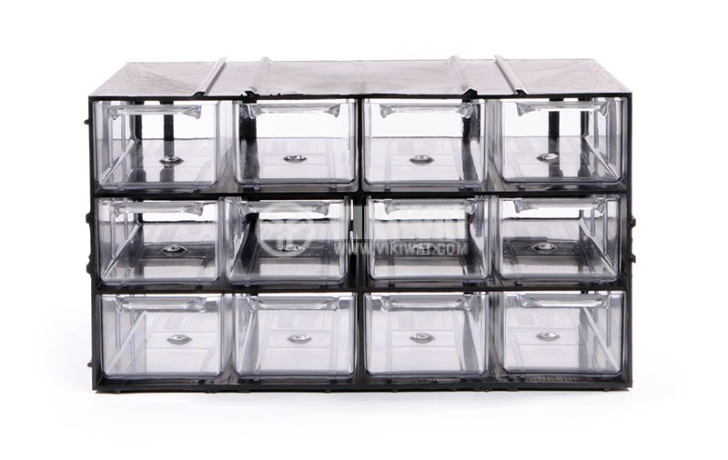 12 Drawers multi uses cabinet - 3