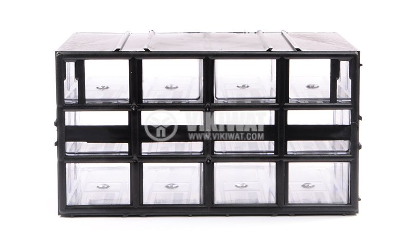 12 Drawers multi uses cabinet - 4