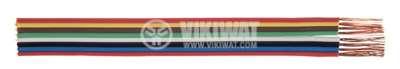 Лентов кабел ЛМПВГ 8x0.5mm2