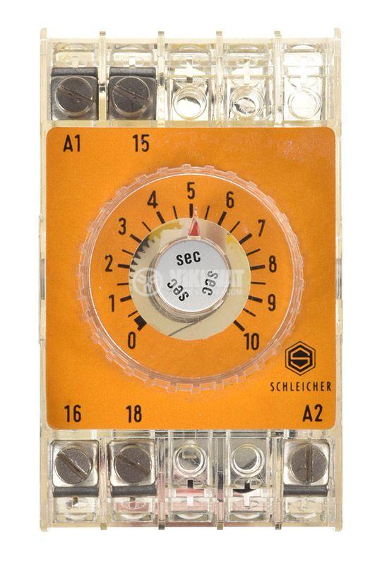 Time relay SZM 51, analog, 250V, 6A, SPST NO, 0.4sec - 10sec - 2